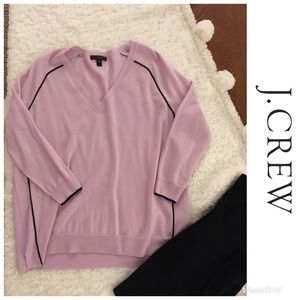 Gorgeous J Crew Lilac 100% Merino Wool Sweater